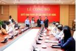 Bộ Xây dựng công bố Quyết định thành lập Cục Kinh tế xây dựng